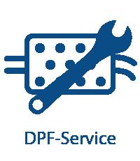 Reinigung der DPF-, FAP-Filter und Katalysatoren