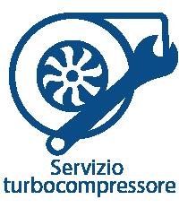 Servizio turbocompressore